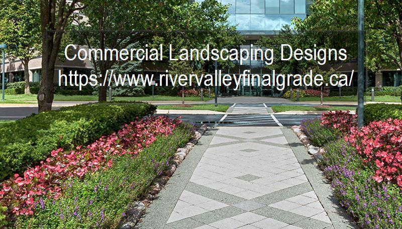 Commercial Landscape Designing Edmonton